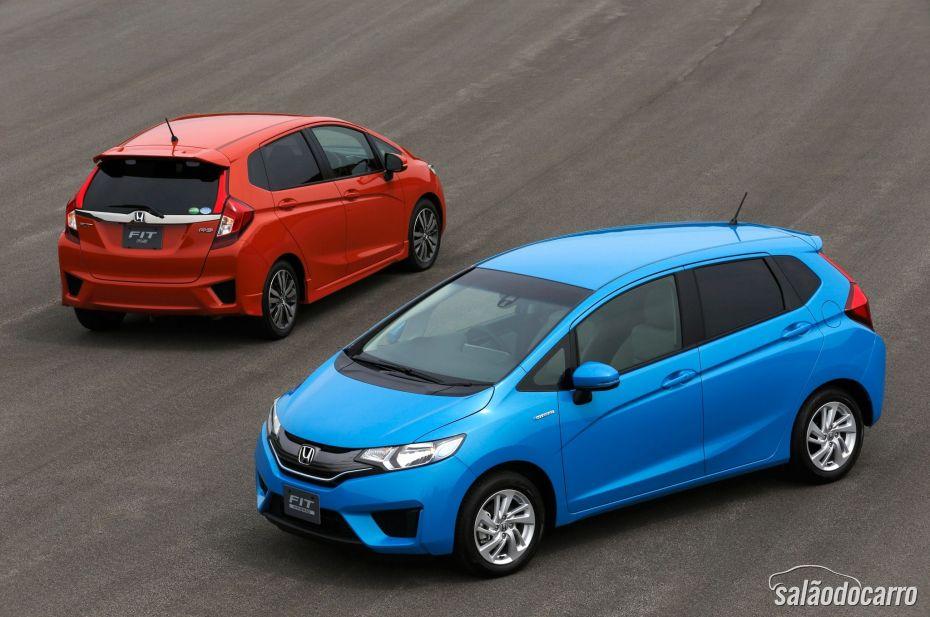 Honda Fit 3ª Geração ganhou uma nova identidade.