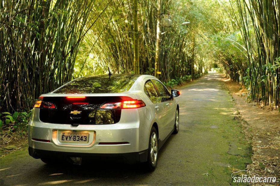 Chevrolet Volt - Traseira