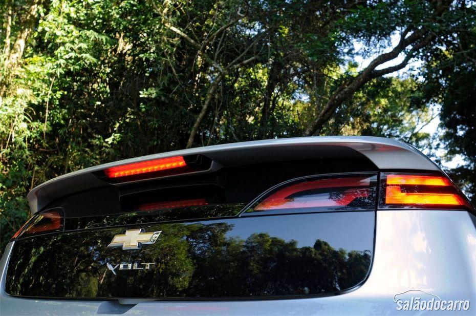 Chevrolet Cruze - Detalhe da traseira