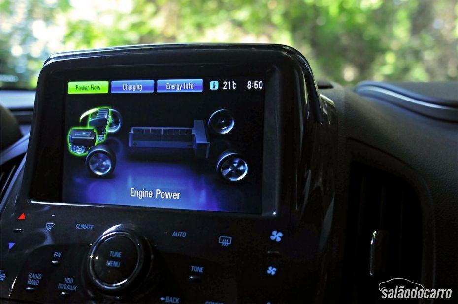 Chevrolet Volt - Sistema de bateria