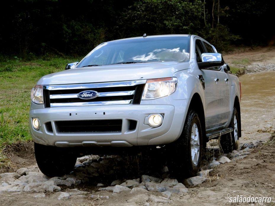 Frente da Nova Ford Ranger