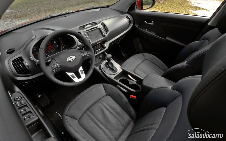 Interior do Sportage
