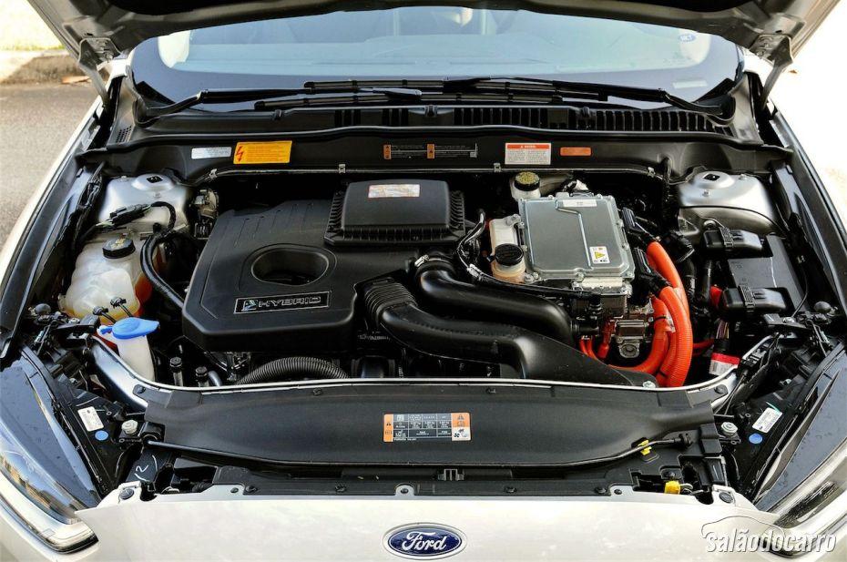 Motor do Ford Fusion Hybrid