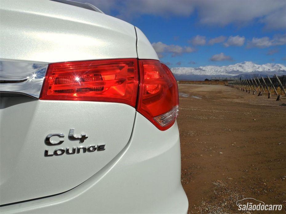 Detalhe da lanterna - Citroën C4 Lounge