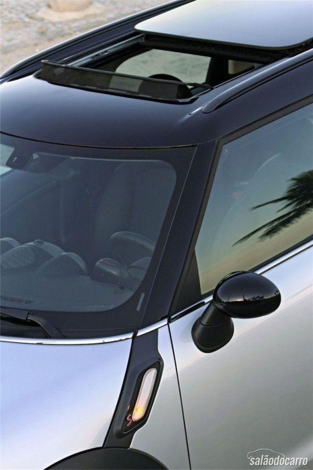 Mini Cooper S - Detalhe do emblema