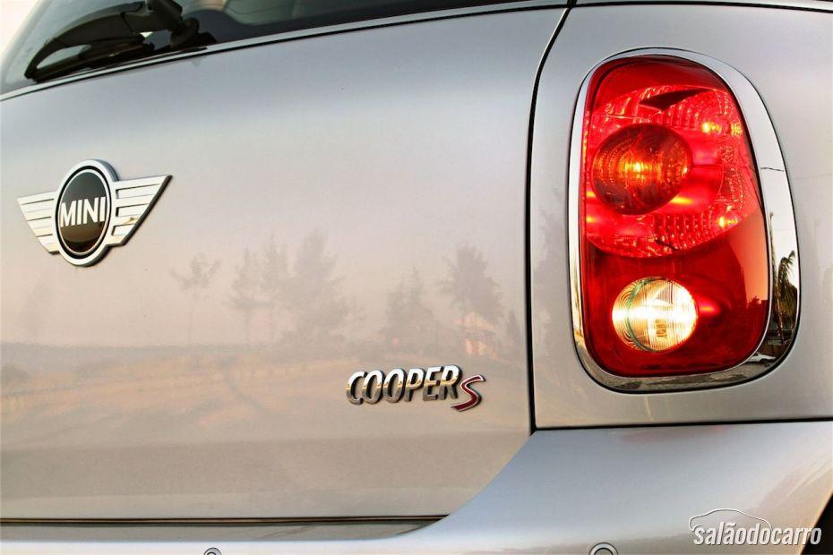 Mini Cooper S - Detalhe da Lanterna