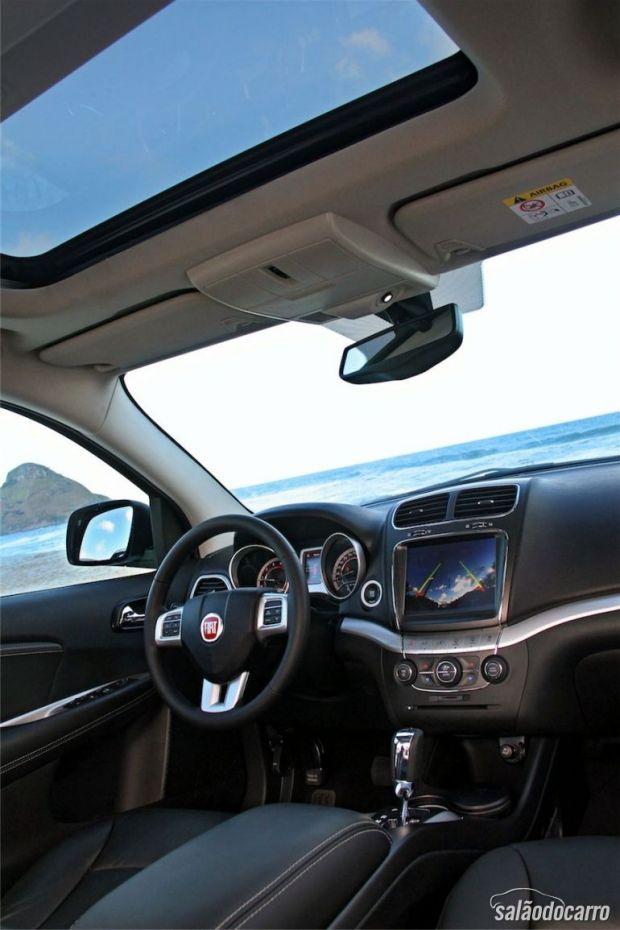 Interior do Novo Fiat Freemont