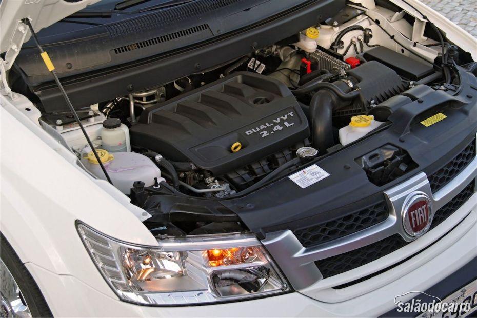 Motor do Fiat Freemont