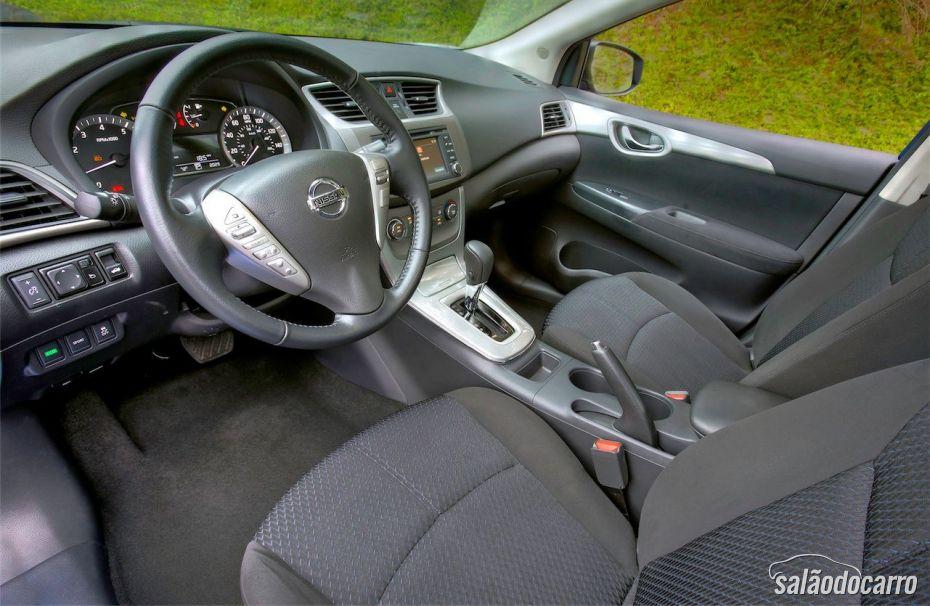 Interior do novo Nissan Sentra