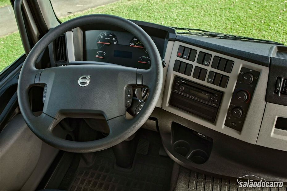 Cabine do Volvo VM