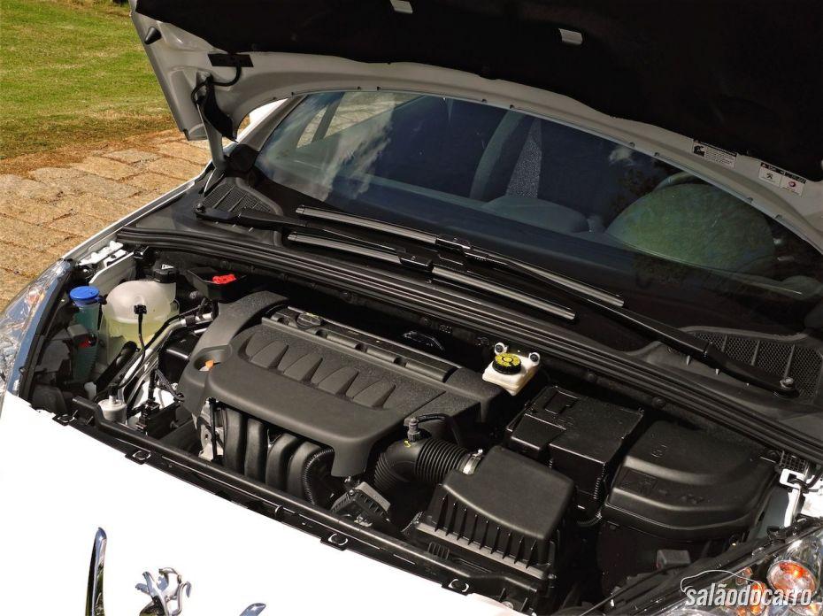 Motor do Peugeot 408