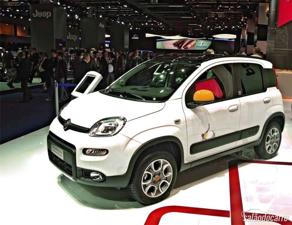 Fiat Panda Antartica