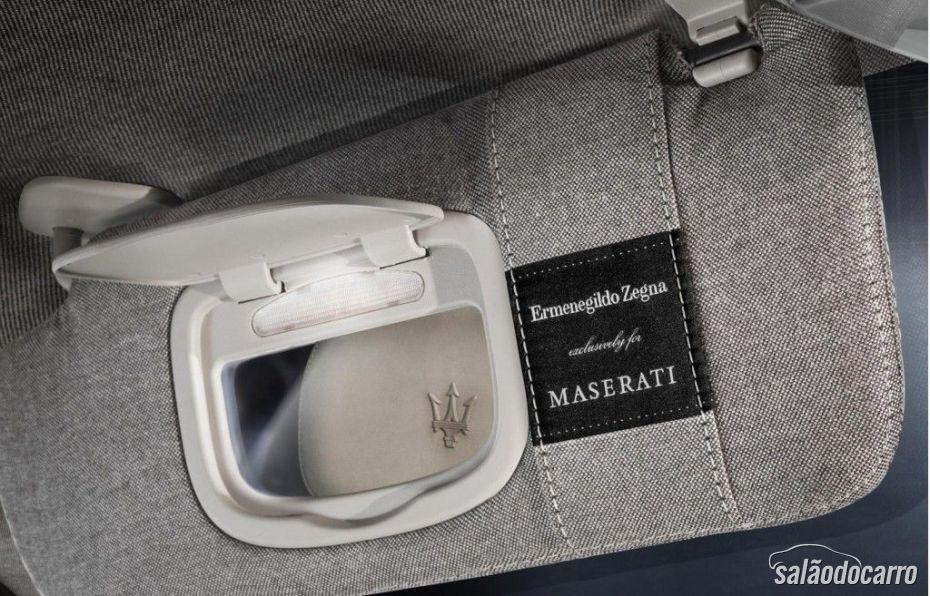 Quattroporte Ermenegildo Zegna - Edição de Luxo da Maserati