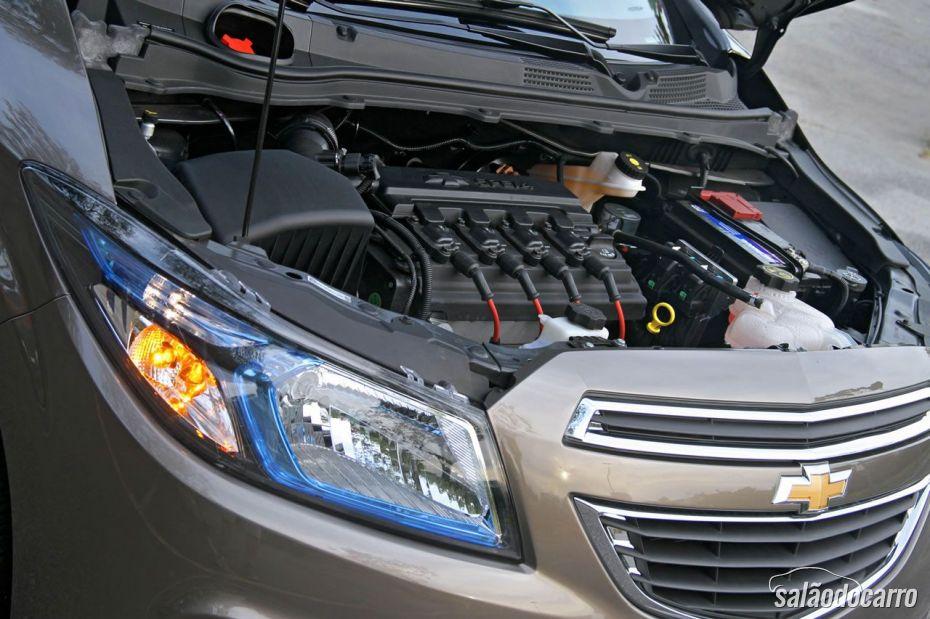 Motor do Chevrolet Prisma