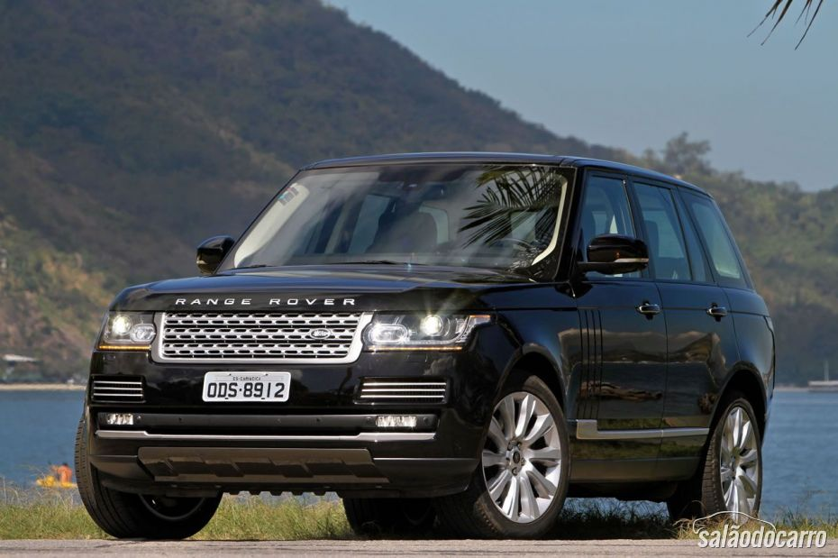 Frente do Range Rover Vogue SE