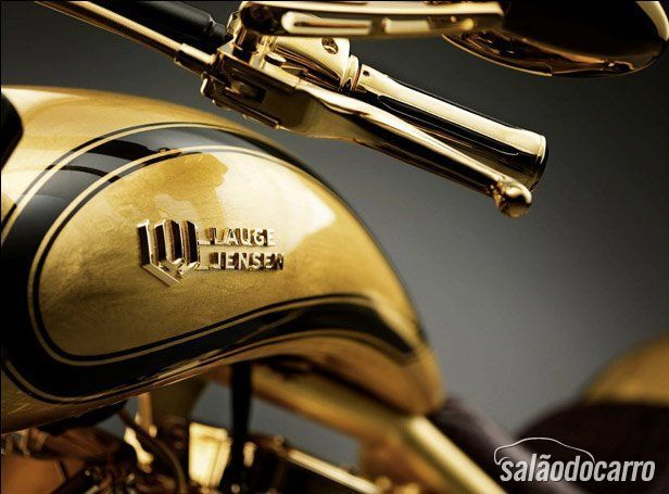 Gold Bike  Lauge jensen