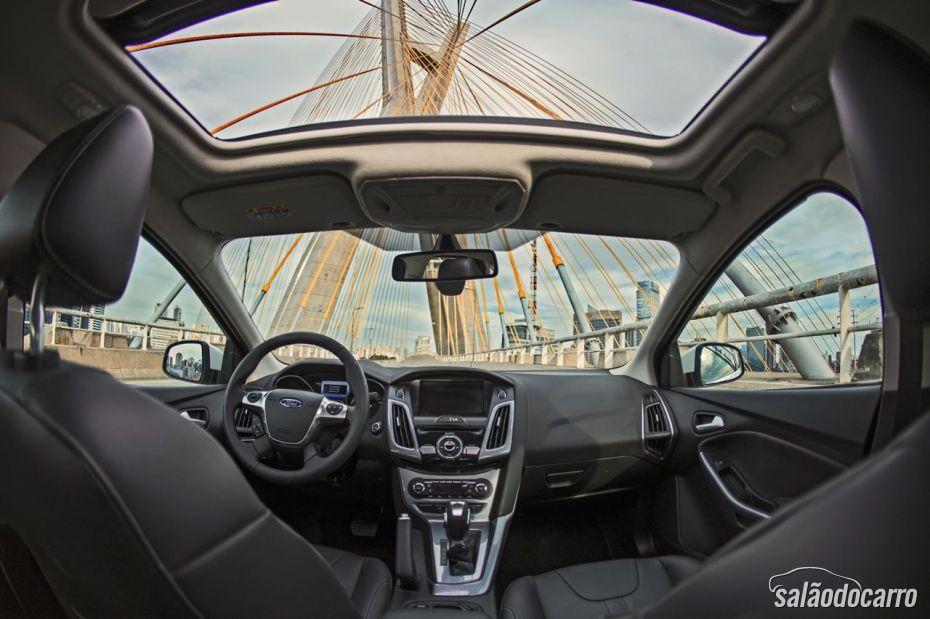 Interior do Novo Focus - com Teto Solar