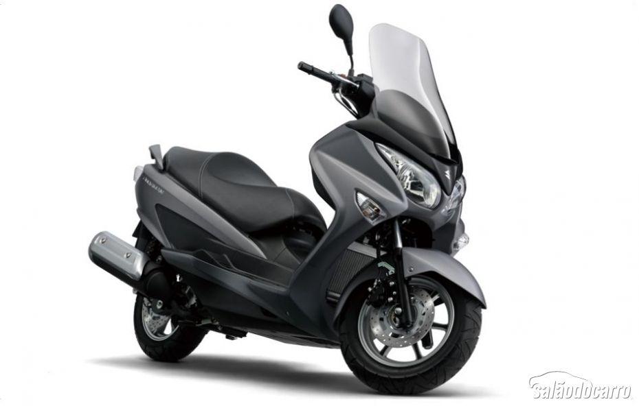 suzuki revela as novas scooters burgman 125 abs e burgman 200 abs not cias sal o da moto. Black Bedroom Furniture Sets. Home Design Ideas