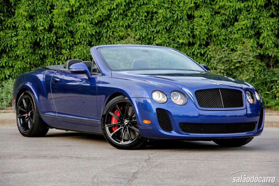 Bentley Mulsanne Conversível