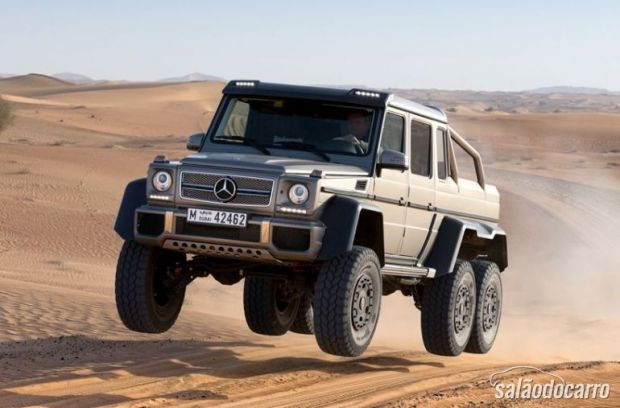 Mercedes G63 6 6
