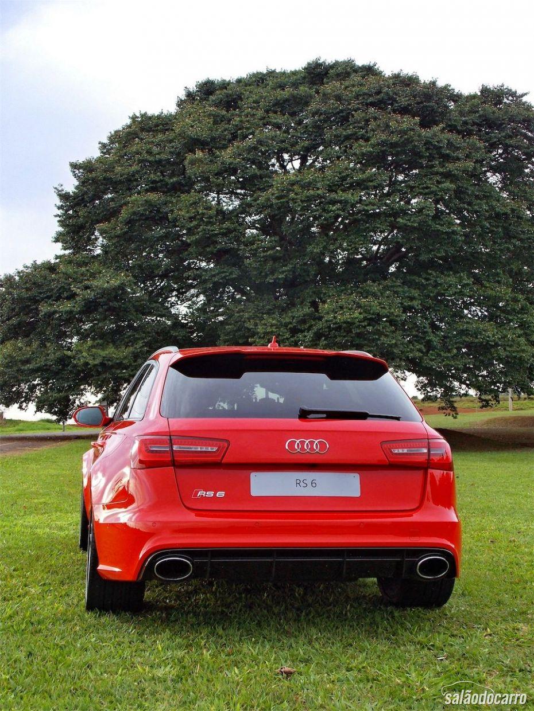 Traseira da Audi RS6 Avant