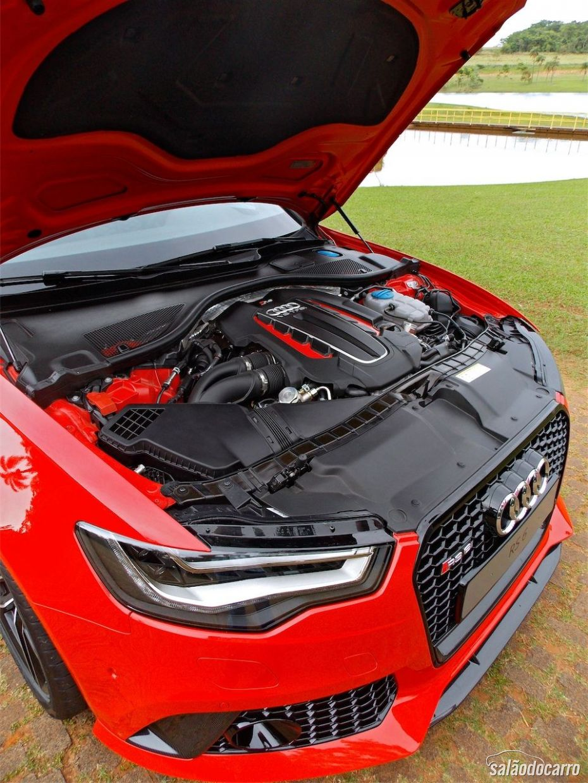 Motor da Audi RS6 Avant