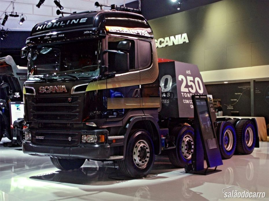 Scania R Highline 620 8X4