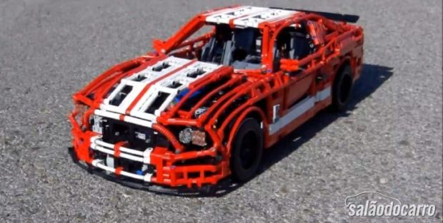 Mustang Shelby Lego