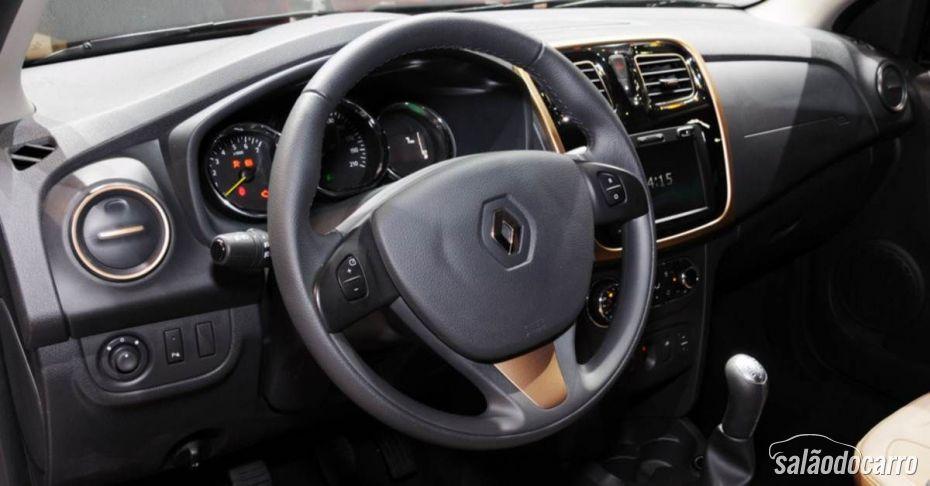 Renault Logan interior