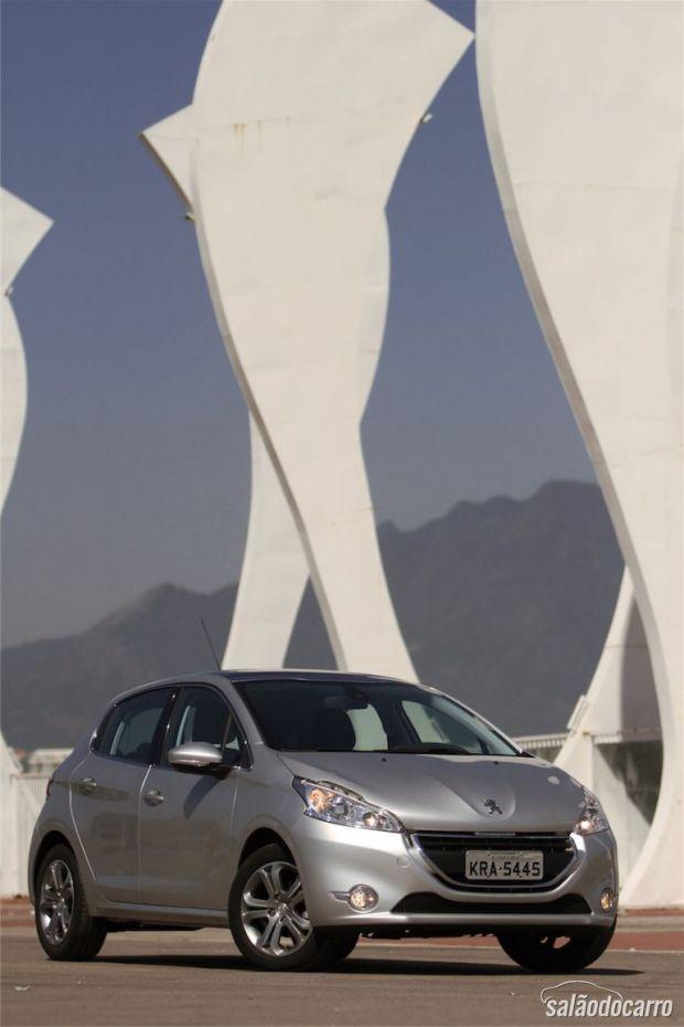 Peugeot 208 Griffe - Frente