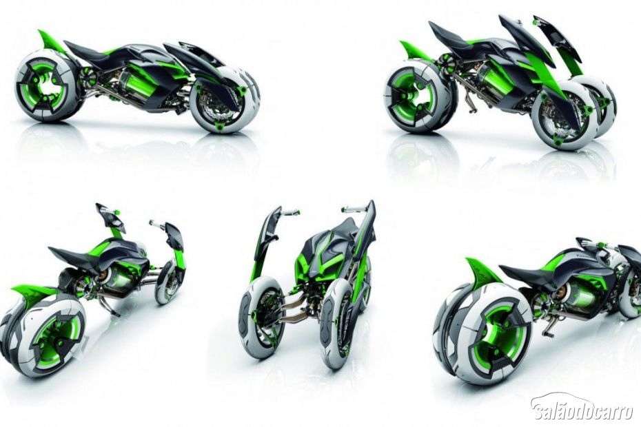 Kawasaki J Three Wheel Concept