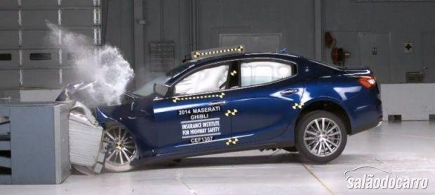 Maserati Ghibli IIHS