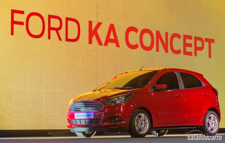 Ford Ka Concept é mostrado na Europa