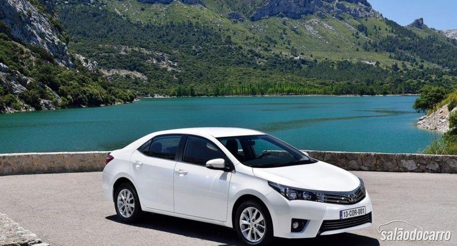 Toyota Corolla chega ao Brasil