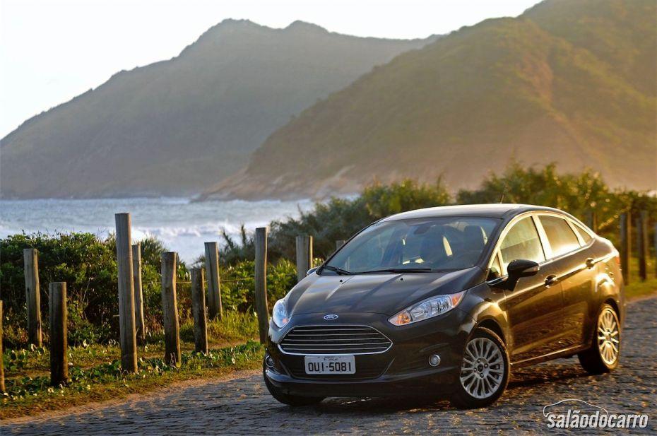 Ford Fiesta Sedan Titanium - Foto 1