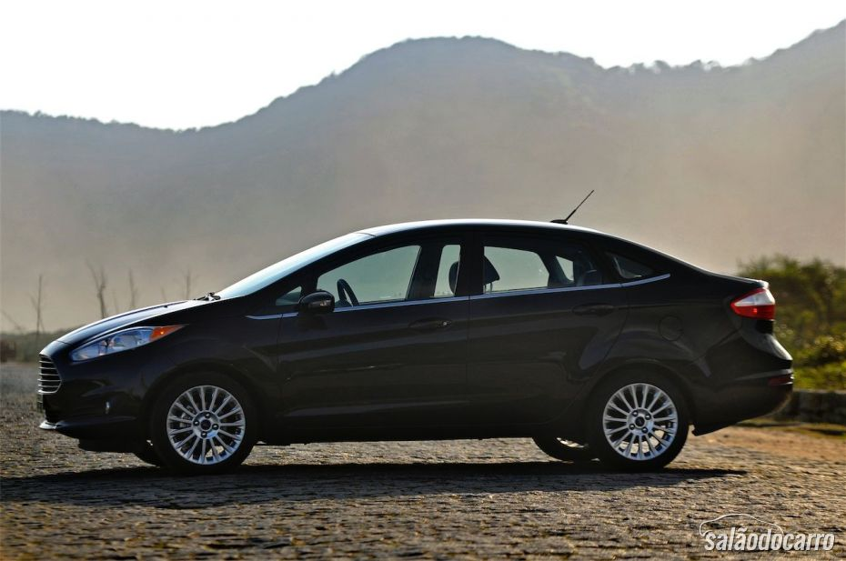 Ford Fiesta Sedan Titanium - Foto 2