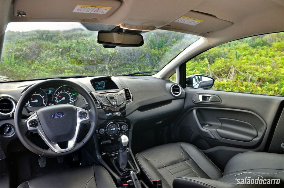 Interior do New Fiesta Sedan