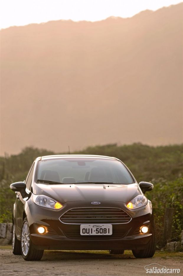 Ford New Fiesta Titanium Sedan