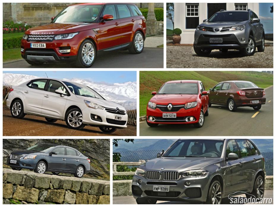 Modelos de Carros lançados em 2013