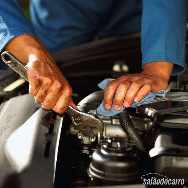 Manutenção preventiva no carro