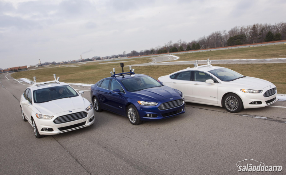 Ford Automated Fusion Hybrid Research Vehicle