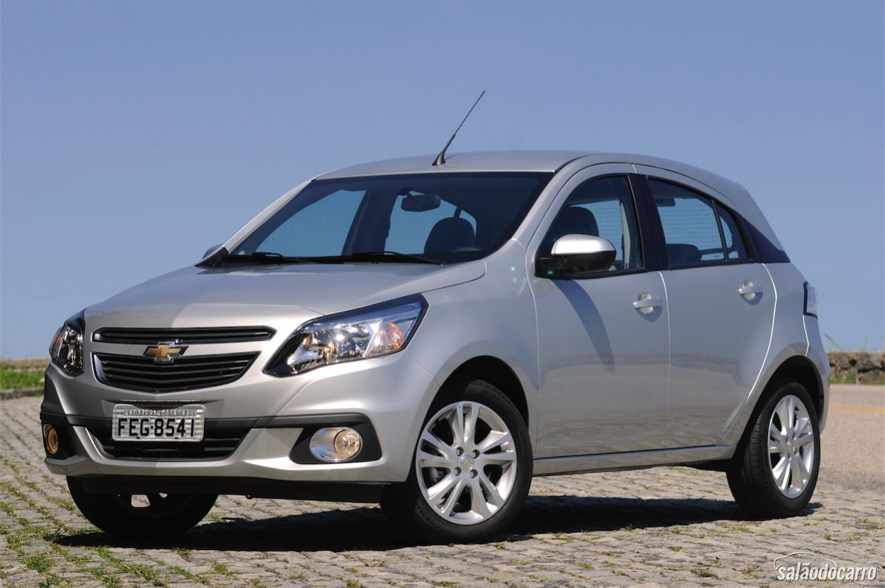 Chevrolet Agile Ltz 2014 Testes Sal 227 O Do Carro