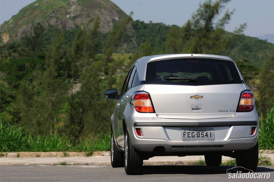 Chevrolet Agile LTZ 2014 - Foto 5