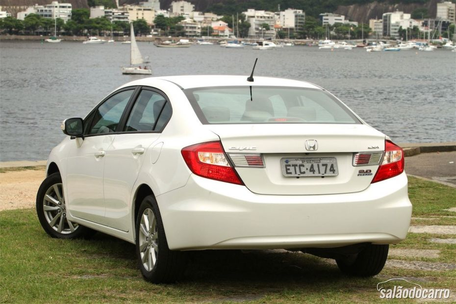 Traseira do novo Honda Civic