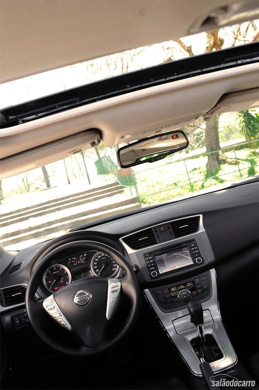2014 Nissan Sentra Fe S >> Nissan Sentra 2.0 16V SL - Testes - Salão do Carro