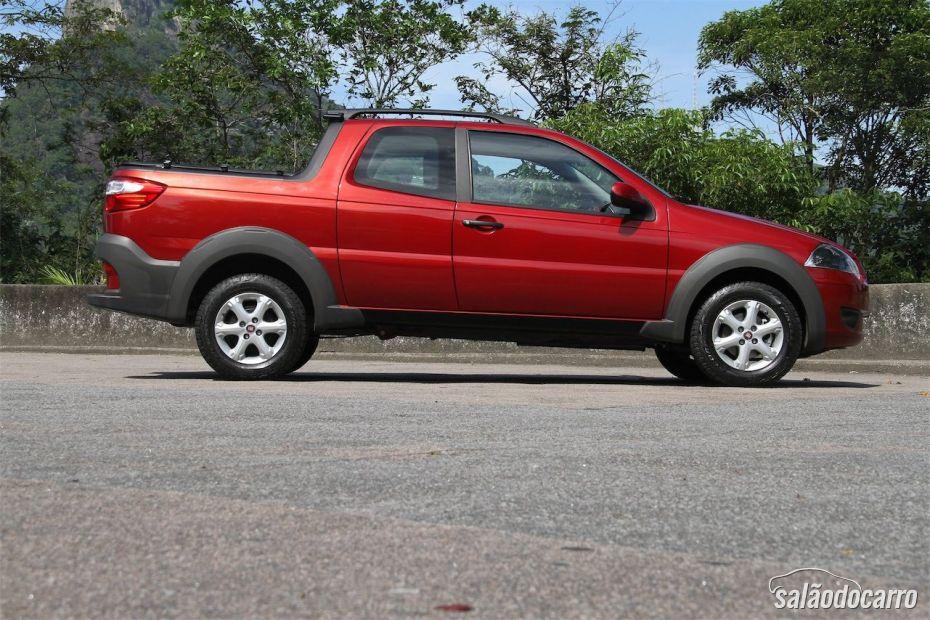 Fiat Strada Treeking CD 1.6 - Foto 2