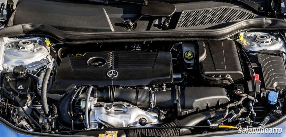 Motor da Mercedes-Benz CLA200