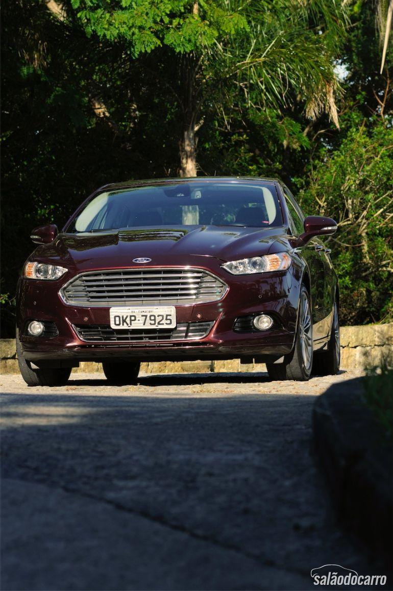 Visão geral do novo Ford Fusion Titanium