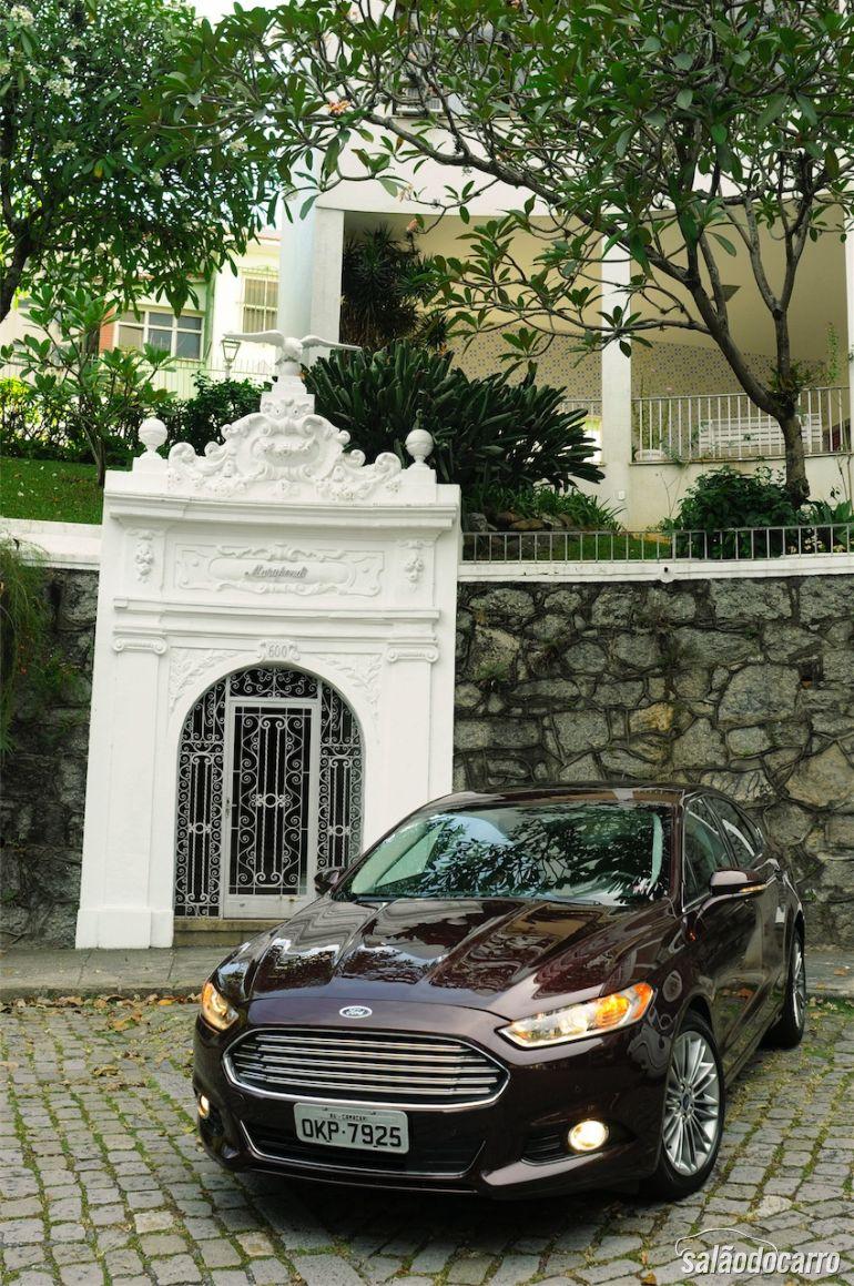 Elegante e rebuscado, o novo Ford Fusion Titanium