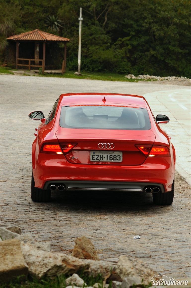 Traseira do Audi S7